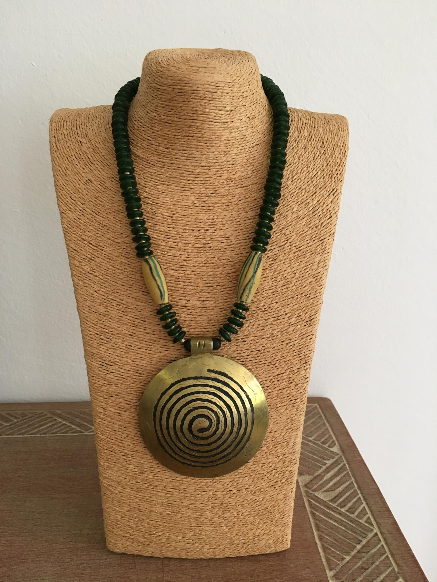 Tuareghandwerk-Ashantiglas-Krobobeads-African Beads Design