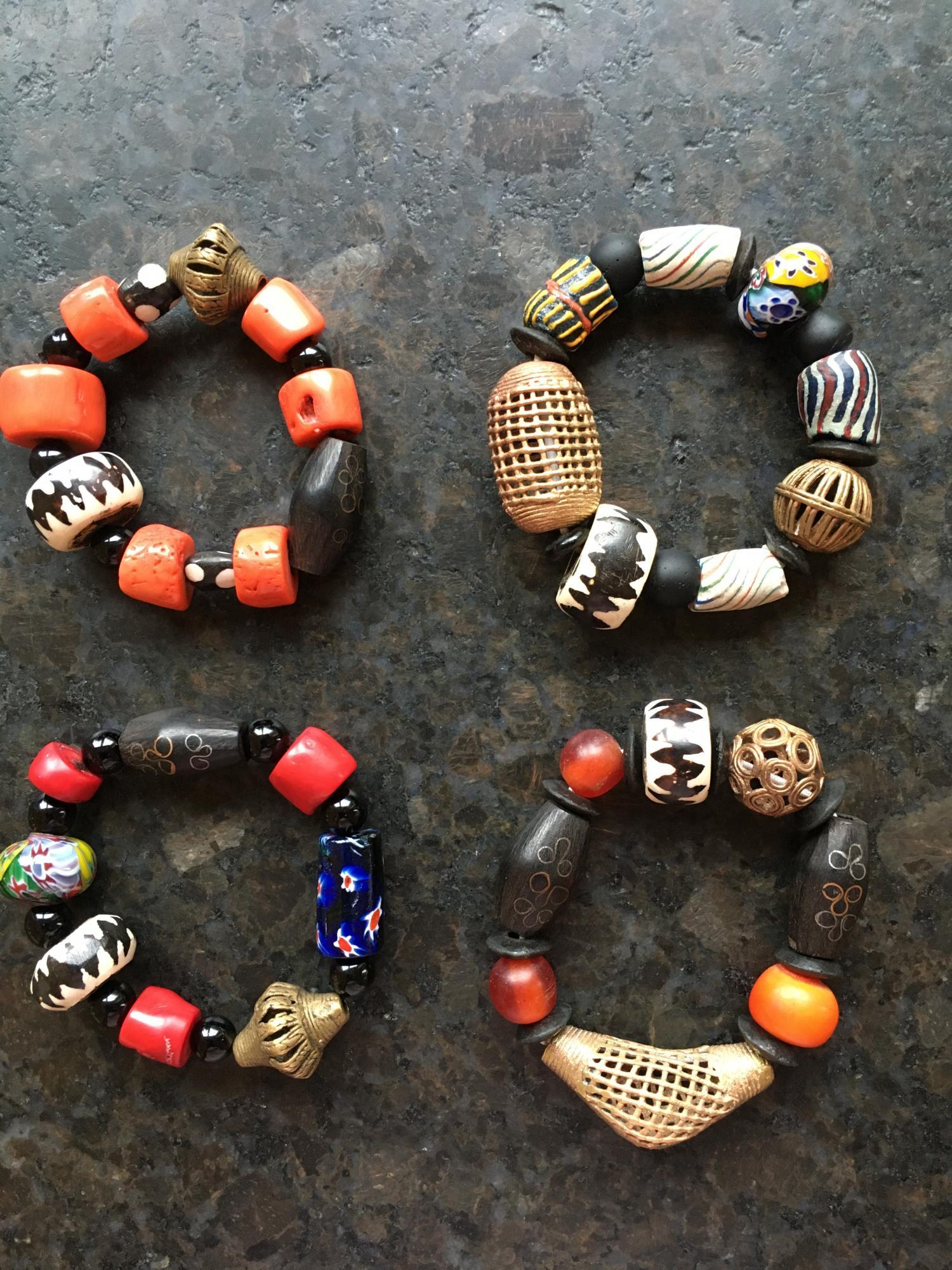 Statement Schmuck African Beads Design