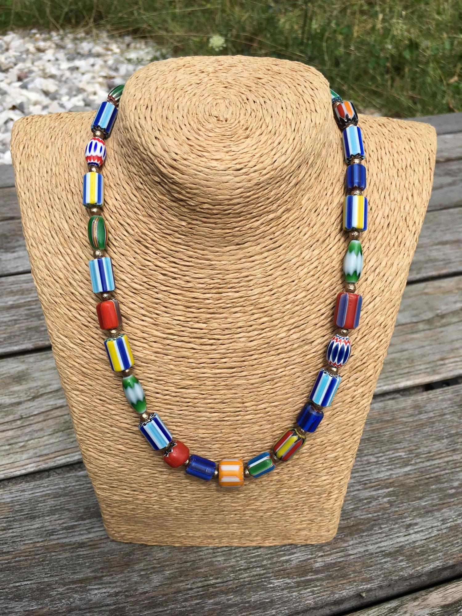 African Beads Design Chevronbeads