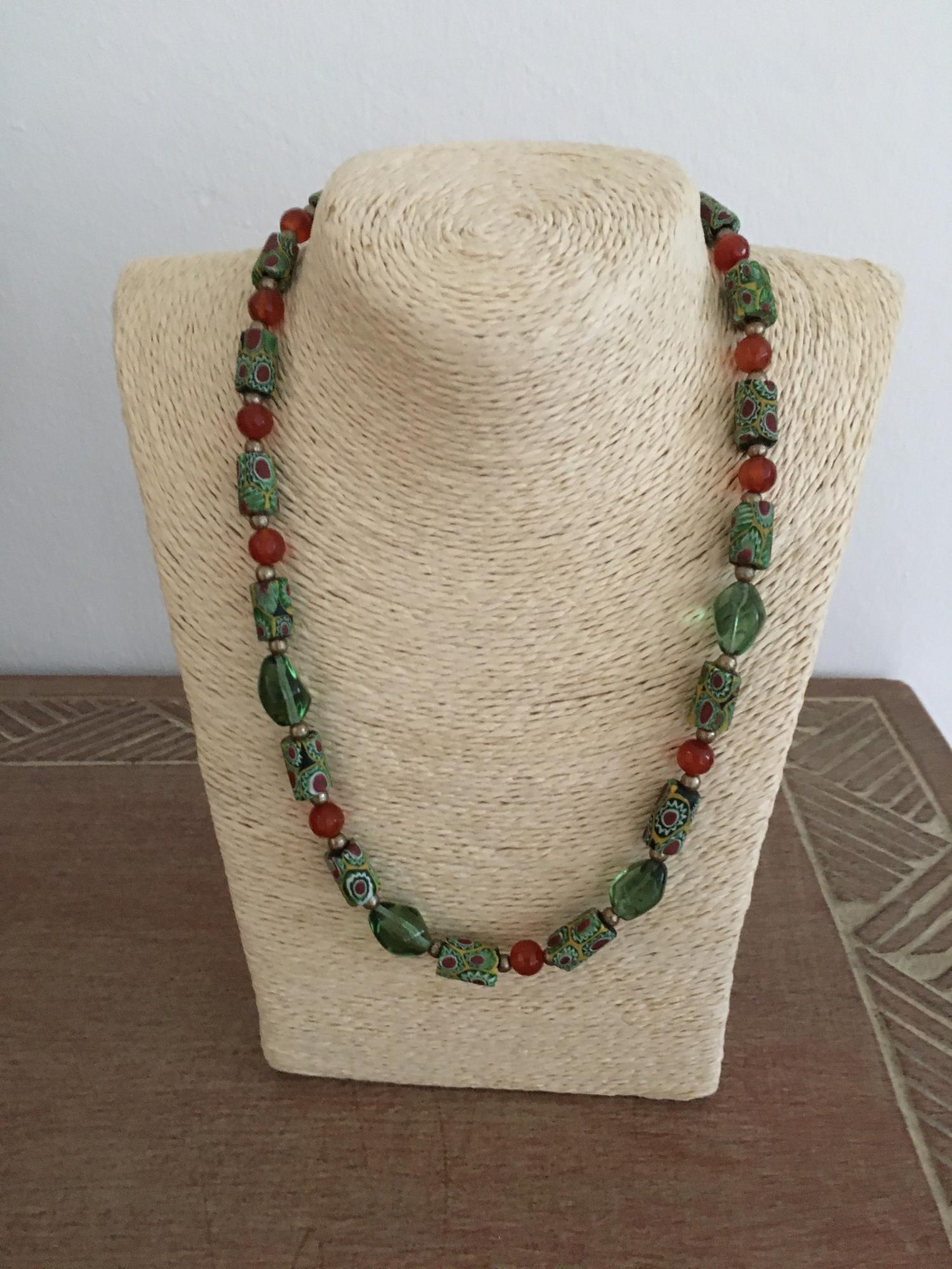 African Beads Design-Tradebeads-Millefiori